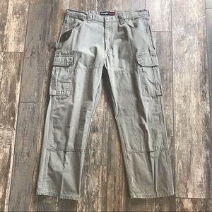 Wrangler RIGGS workwear cargo pants Sz 38x30